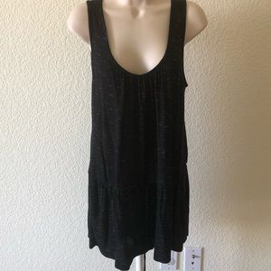 Love 21 black tank with pockets size M